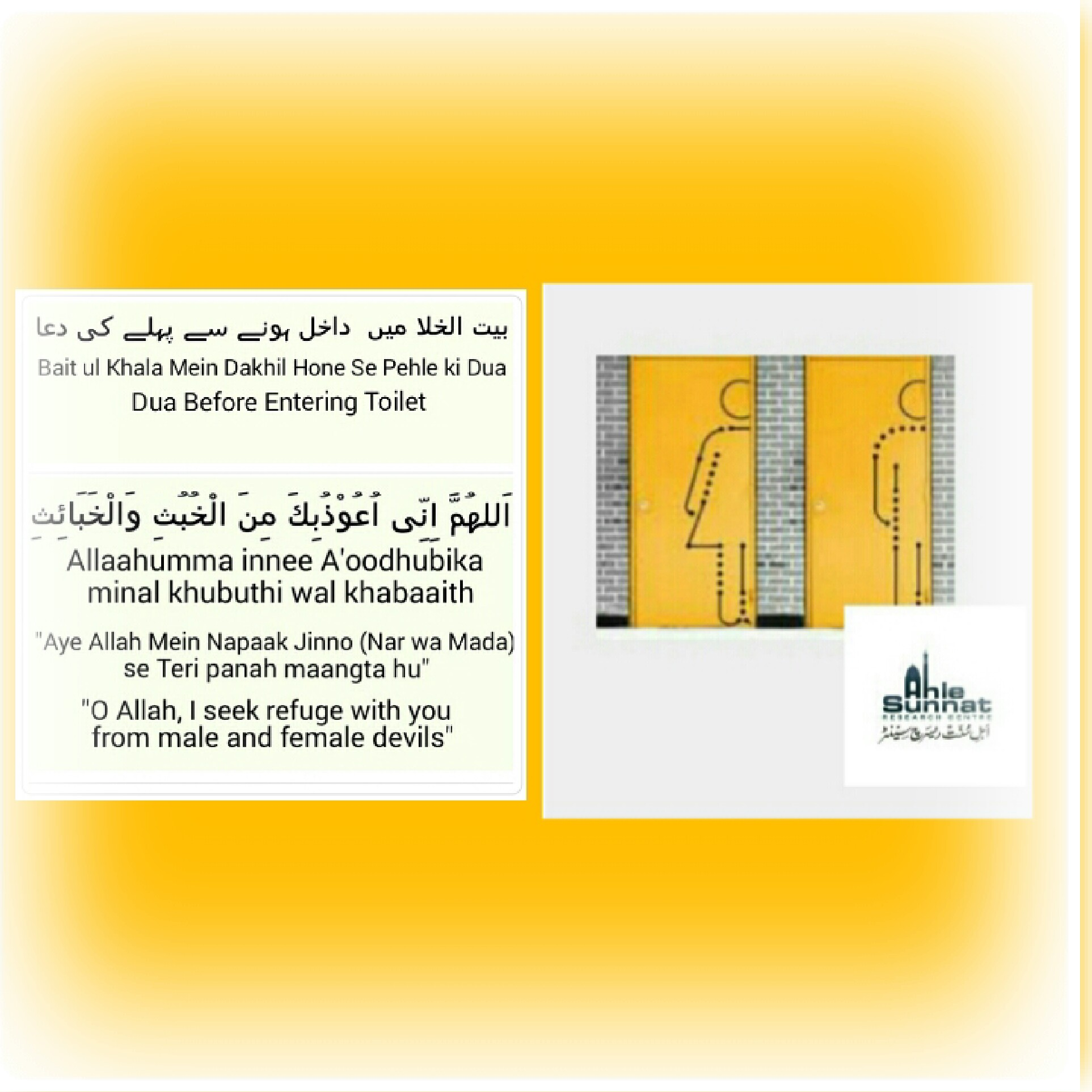 Bathroom Ki Dua entering bathroom dua | modelismo-hld